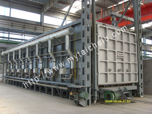 16米新型燃气热处理炉
